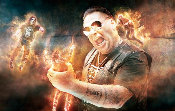 , 9mm Assi Rock Sänger Rock Rotten im Interview