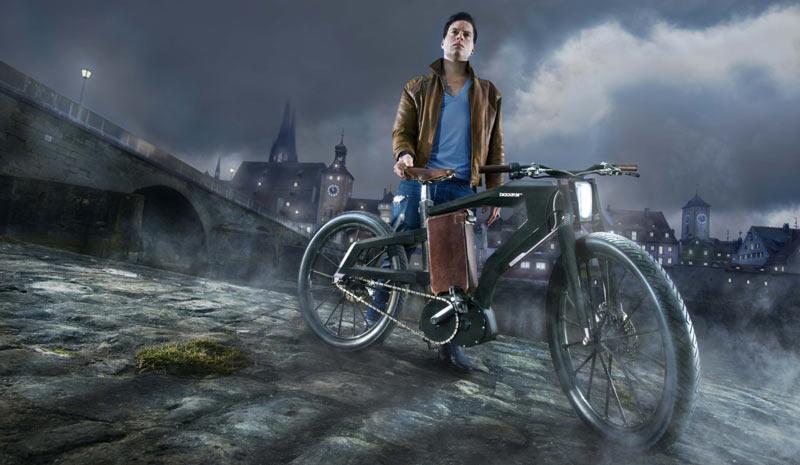 Schweres Motorrad oder Elektrofahrrad? Beides geht mit PG Bikes!