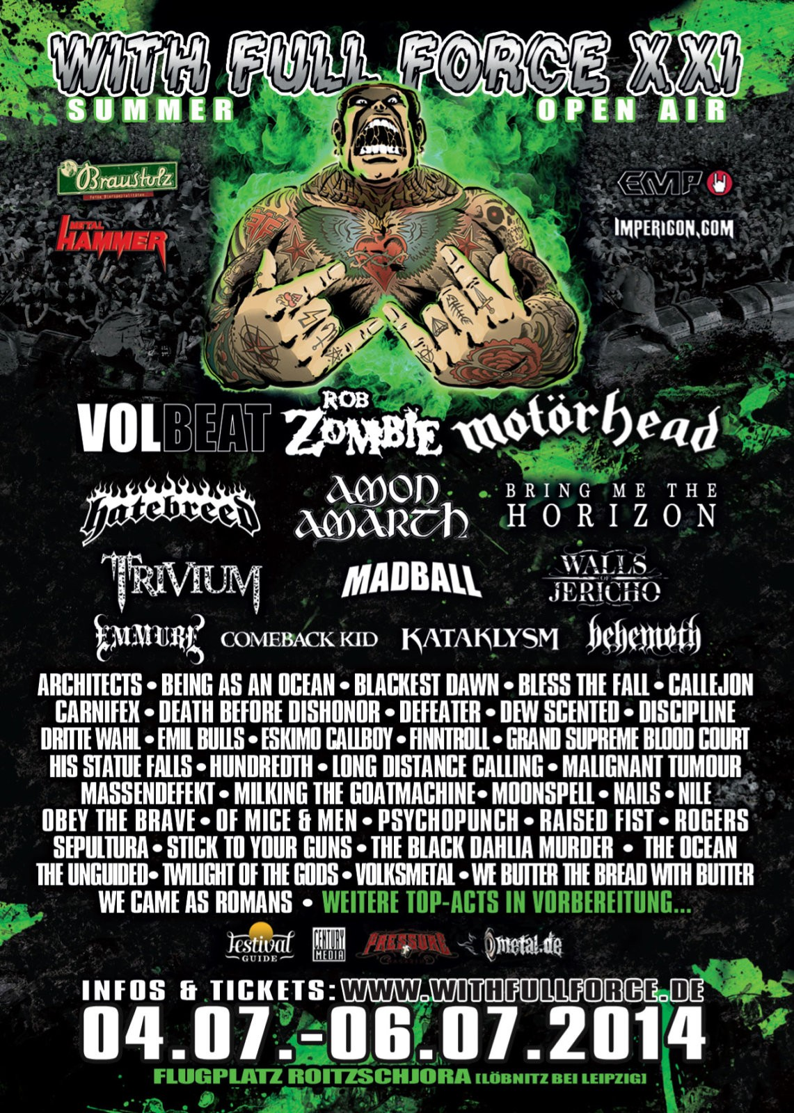 With Full Force 2014 – Infos zu Lineup, Bands und Tickets