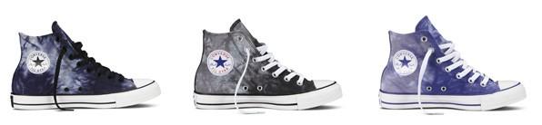 """, Schuh-Trend 2014: Converse startet mit """"Tie Dye""""-Sneakers eine neue Batik-Kollektion"""