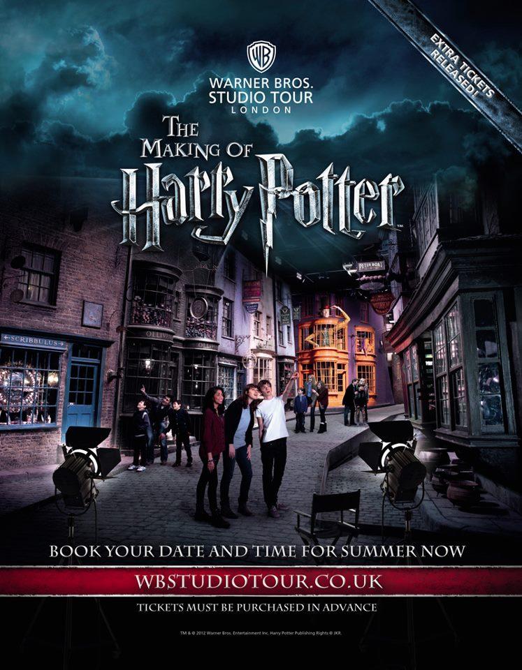 Harry Potter Studio Tour – Entdecken Sie die Magie Londons