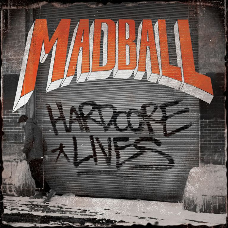 , Madball: Albumcover und Soundcheck zu 'Hardcore Lives'