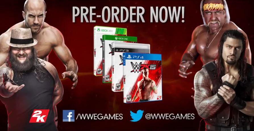 WWE 2K15: Die Wrestling-Superstars zum selber spielen!