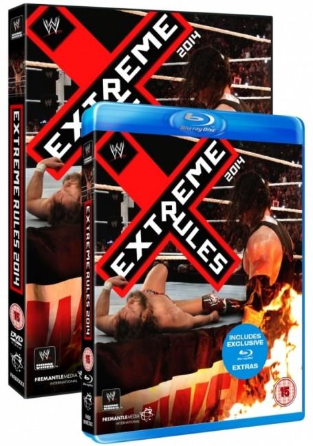 WWE Extreme Rules 2014 DVD & Blu-ray ab 25. Juli erhältlich!