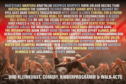 So wird das Open Flair Festival 2015 in Eschwege