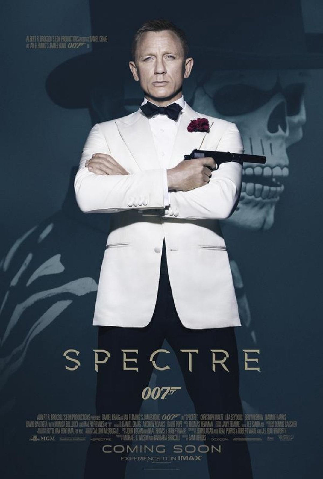 James Bond SPECTRE Filmplakat