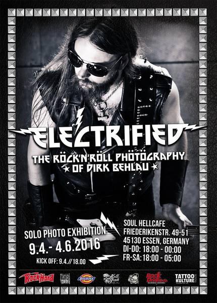 Electrified: Rock'n'Roll-Fotoausstellung von Dirk Behlau in Essen