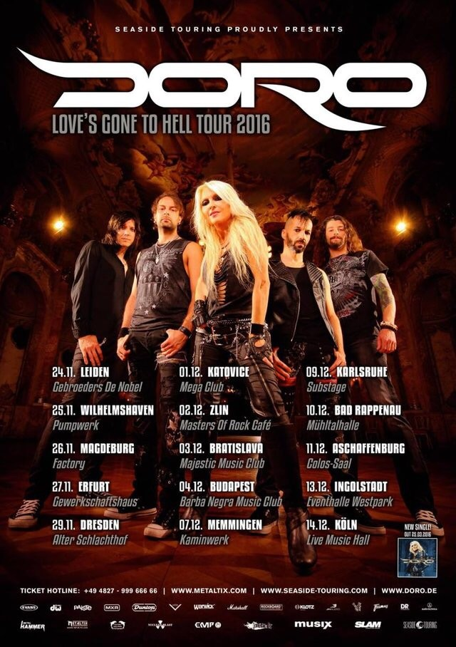 DORO: Strong And Proud – 30 Years Of Rock And Metal ab sofort erhältlich!