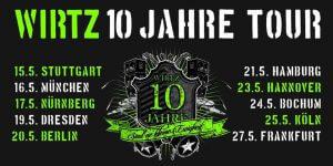 , WIRTZ 10 Jahre Tour: Alle Infos zu Konzerten und Tickets