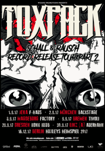 , Pressure präsentiert: TOXPACK – Schall & Rausch Record Release Tour II
