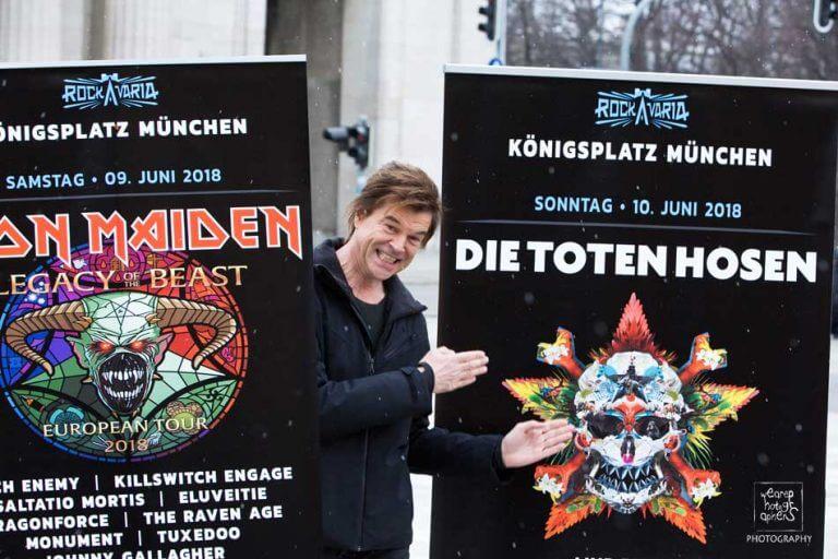 Münchens ROCKAVARIA Festival bestätigte die letzten Künstler, die im Juni auf dem Königsplatz dabei sind. Insgesamt 20 Rockbands spielen an beiden Tagen auf zwei Bühnen.