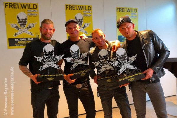 Feuertaufe für Frei.Wild in München – Rivalen und Rebellen Tour 2018