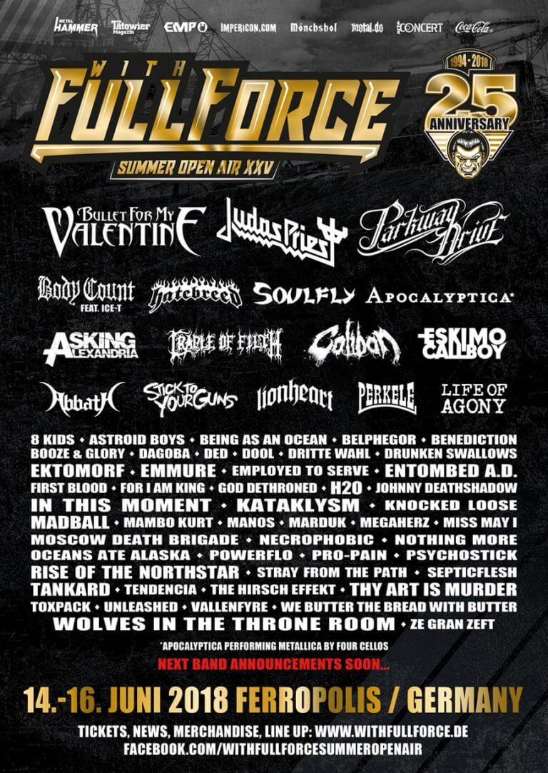 With Full Force 2018: Alle Infos zum Metal-Festival