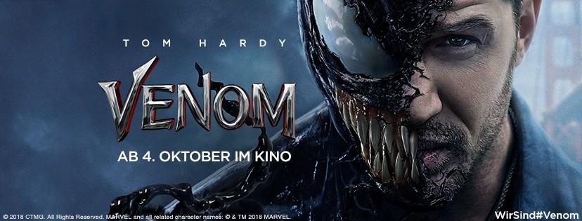 VENOM mit Tom Hardy - Trailer und erste Bilder jetzt online