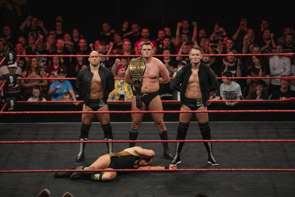 WWE NXT Sportler Marcel Barthel und Fabian Aichner Interview